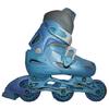 Коньки роликовые раздвижные Kepai STAR-9 голубые - фото 1