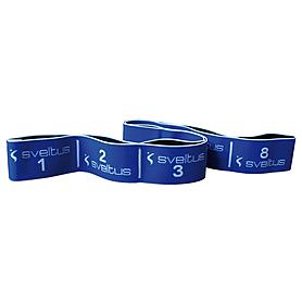 Фото 7 к товару Эспандер для фитнеса Elastiband (20 кг) Sveltus