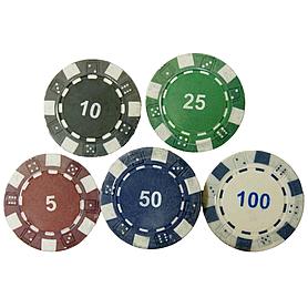 Фото 2 к товару Фишка для покера, 1 шт.
