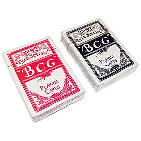 Карты игральные с пластиковым покрытием BCG Club Special