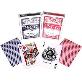 Фото 2 к товару Карты игральные с пластиковым покрытием BCG Club Special