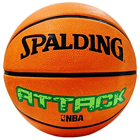 Мяч баскетбольный резиновый Spalding Attack