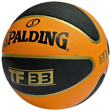 Мяч баскетбольный резиновый Spalding TF-33