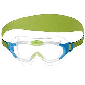Фото 1 к товару Очки для плавания детские Speedo Sea Squad Mask Ju Blue/Green