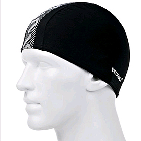 Шапочка для плавания Speedo Monogram End+ Cap Au Black/White