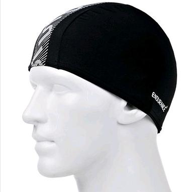 Шапочка для плавания Speedo Monogram End+ Cap Au Black/White