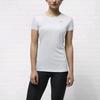 Футболка женская Nike Miler SS Crew Top белая - фото 2