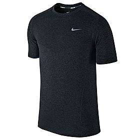 Фото 1 к товару Футболка мужская Nike Dri-Fit Knit SS черная