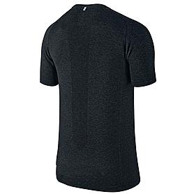 Фото 2 к товару Футболка мужская Nike Dri-Fit Knit SS черная