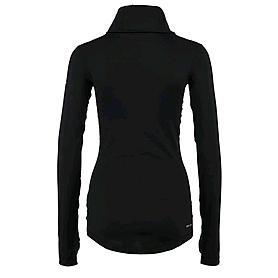 Фото 2 к товару Футболка женская Nike Pro Hyperwarm Infinity черная
