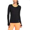 Футболка женская Nike Pro Hypercool LS Top черная - фото 2