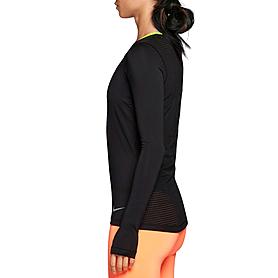 Фото 3 к товару Футболка женская Nike Pro Hypercool LS Top черная