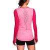Футболка женская Nike Pro Hypercool LS Top розовая - фото 1