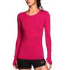 Футболка женская Nike Pro Hypercool LS Top розовая - фото 2