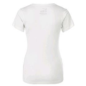 Фото 4 к товару Футболка женская Nike Brush Up SS VNeck Tee белая
