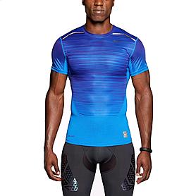 Фото 1 к товару Футболка мужская Nike Hypercool Speed Comp SS синяя