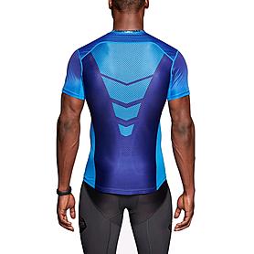 Фото 2 к товару Футболка мужская Nike Hypercool Speed Comp SS синяя