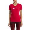 Футболка женская Nike Slim Swoosh SS BL Were - фото 3