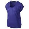 Футболка женская Nike Club Boxy Tee Logo синяя 637553-455 - фото 1
