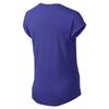 Футболка женская Nike Club Boxy Tee Logo синяя 637553-455 - фото 2