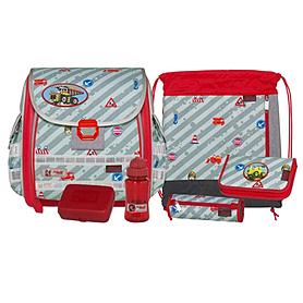 Ранец для школьников McNeill Caro Gekko Traffic + подарок