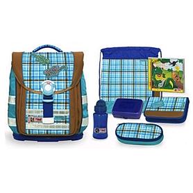 Ранец для школьников McNeill Caro Gekko + подарок