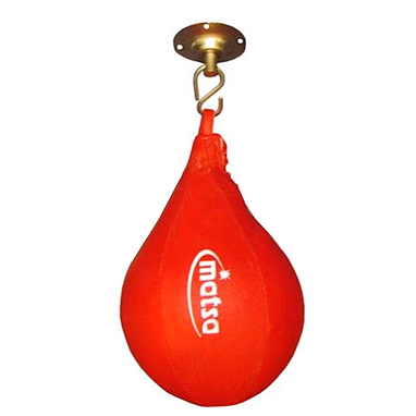 Груша боксерская каплевидная Matsa (ПВХ) 30х19 см