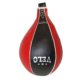 Груша боксерская пневматическая Velo (кожа) 28х17 см Uli-8004