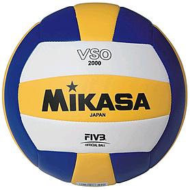 Фото 1 к товару Мяч волейбольный Mikasa VSO2000 (Оригинал)