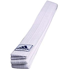 Распродажа*! Пояс для кимоно Adidas Club белый