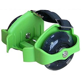 Ролики на пятку Flashing Roller 80 кг зеленые