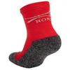 Термоноски детские Norveg Multifunctional Kids Socks серо-красные - фото 2
