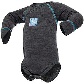 Термободи детское с длинным рукавом Norveg Soft серый мелаж
