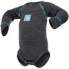 Термободи детское с длинным рукавом Norveg Soft серый мелаж - фото 1