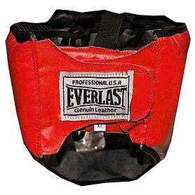 Фото 2 к товару Шлем с маской (кожа) Everlast красный
