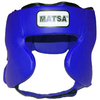 Шлем боксерский закрытый MATSA синий - фото 1