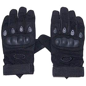 Перчатки тактические полнопалые Oakley 94025 черные - L