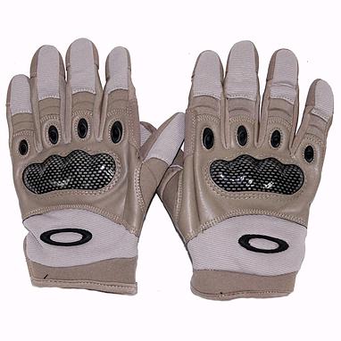 Перчатки тактические полнопалые Oakley 96548 коричневые