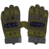 Перчатки тактические полнопалые Oakley 94025 зеленые - фото 1