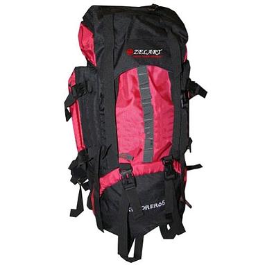 Рюкзак туристический Trekking V-65+10 красный