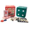 Набор настольных игр 6 в 1 (покер, карты, домино, шахматы, нарды, кости) - фото 1