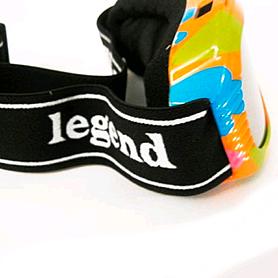 Фото 2 к товару Очки горнолыжные детские Legend LG7004