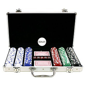 Набор для игры в покер IG-4392-300 300 фишек без номинала