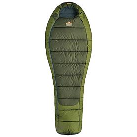 Фото 1 к товару Мешок спальный (спальник) зимний Pinguin Comfort L PNG 2103 левый зеленый