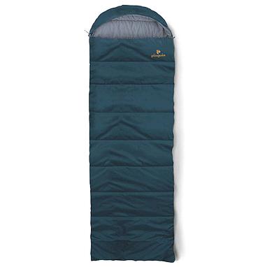 Мешок спальный (спальник) летний Pinguin Safari левый темно-синий
