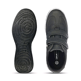 Фото 3 к товару Ботинки женские черные WalkMaxx
