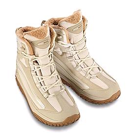 Фото 2 к товару Ботинки зимние бежевые WalkMaxx