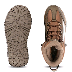 Фото 2 к товару Ботинки зимние коричневые WalkMaxx