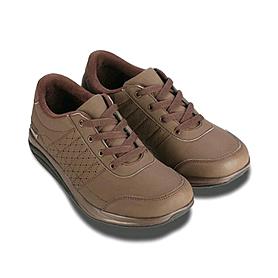 Фото 2 к товару Ботинки со шнурками коричневые WalkMaxx