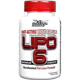 Жиросжигатель Nutrex NR Lipo-6 120 liqui-caps
